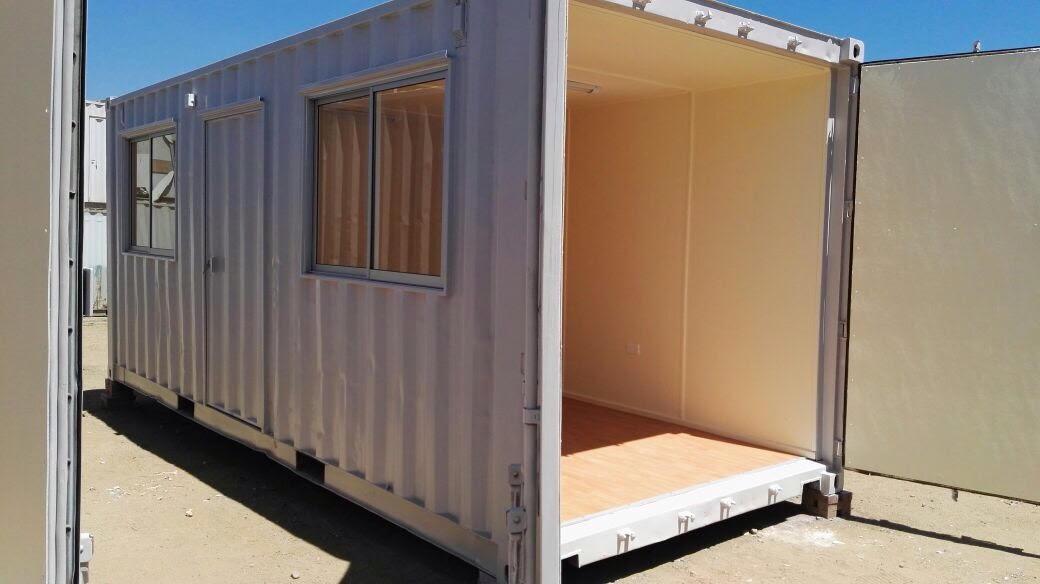Oficina modular boxtam for Container oficina