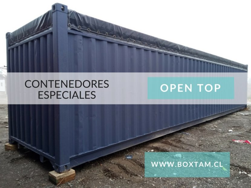 CONTAINER OPEN TOP CHILE